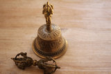 Dorjé und Glocke klein - 6 cm_