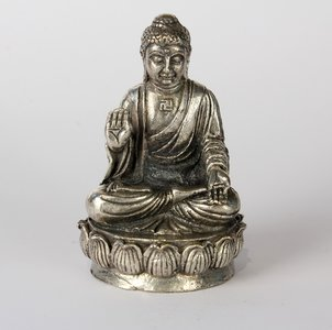 Buddha Japanisch auf Lotus 5 cm